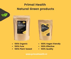primal health natural green banner